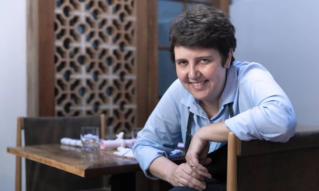A chef Roberta Sudbrack Foto: Leo Martins / Agência O Globo