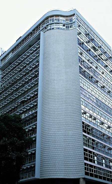 Fachada do edifício do Instituto de Resseguros do Brasil Foto: Fotos de Vicente de Mello/Divulgação