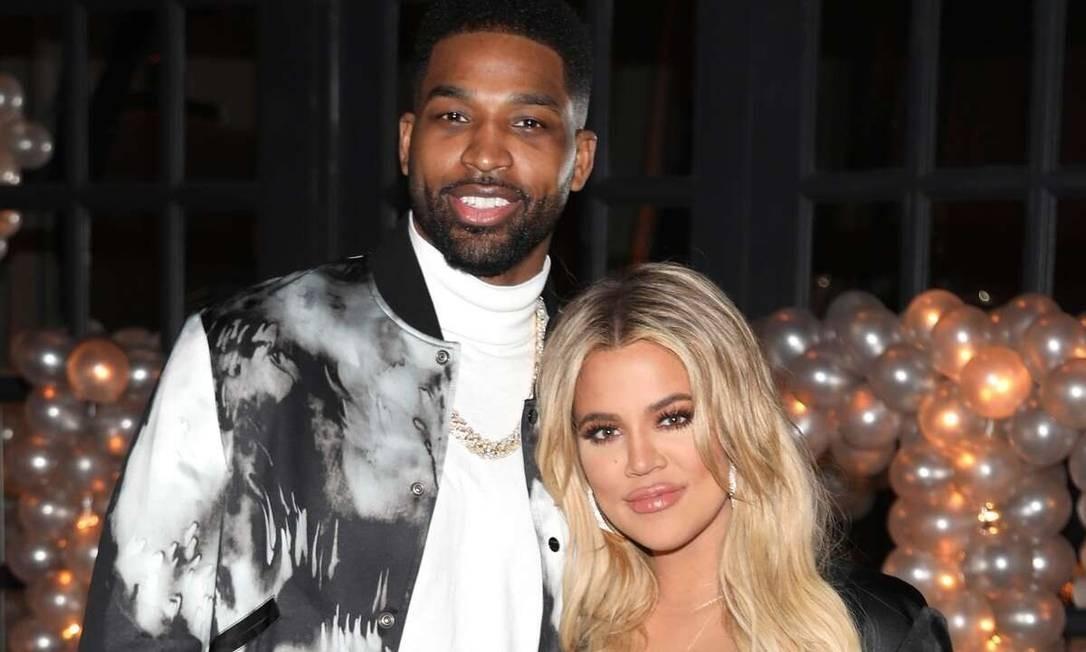 Khloé Kardashian e Tristan Thompson Foto: Reprodução