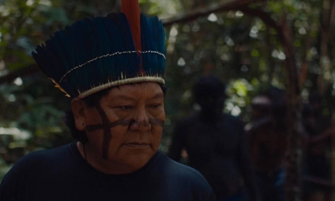 O xamã e líder político Davi Kopenawa Yanomami Foto: Pedro J Márquez