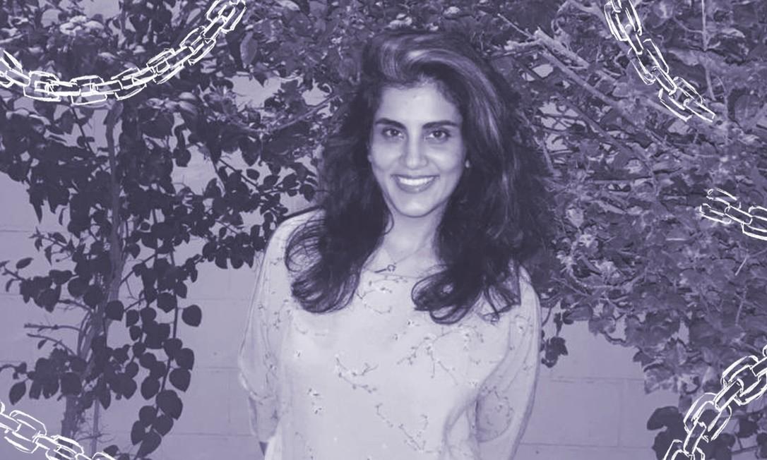 A família diz que Hathloul, que fez campanha pelo direito das mulheres de dirigir e acabar com o sistema de tutela masculina do reino saudita, foi submetida a abusos, incluindo choques elétricos, afogamento, açoites e agressão sexual enquanto esteve na prisão Foto: Reprodução/Twitter