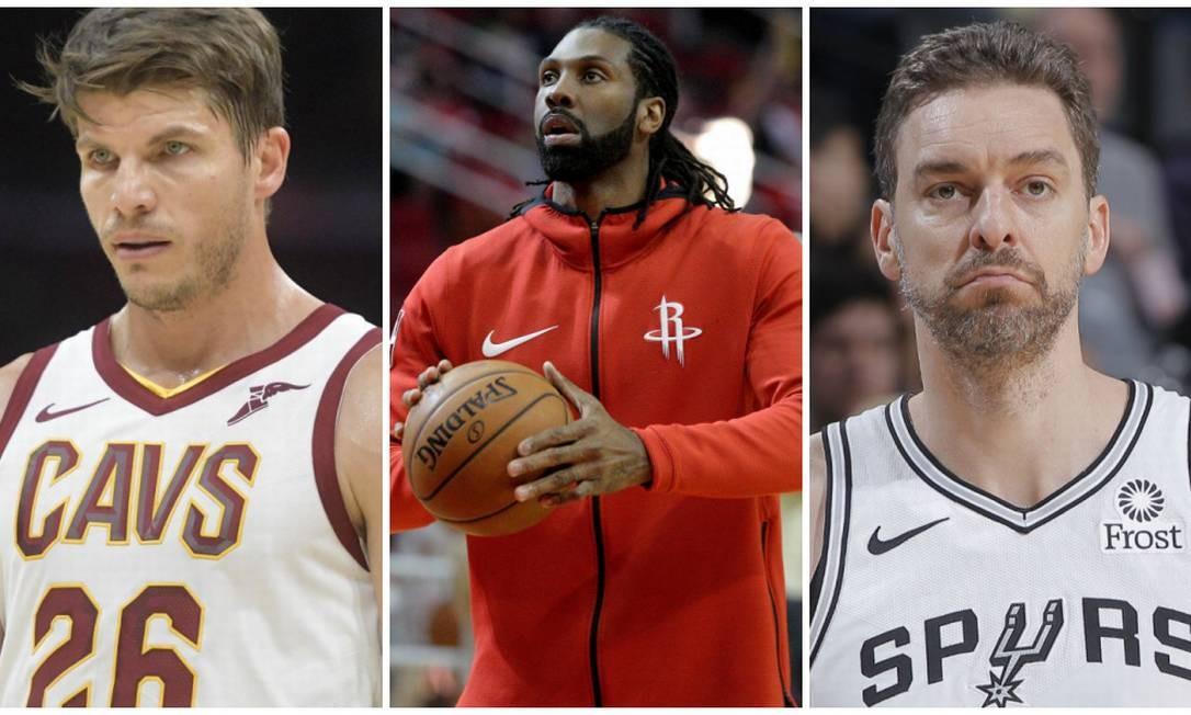 Korver, Nenê e Pau Gasol estão livres no mercado Foto: NBA/Site oficial