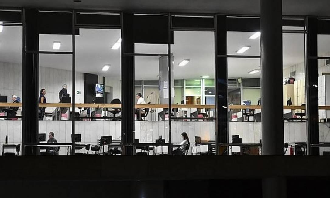 Comitê de imprensa, espaço que Arthur Lira pretende ocupar, tem acesso direto ao plenário da Câmara Foto: Reprodução