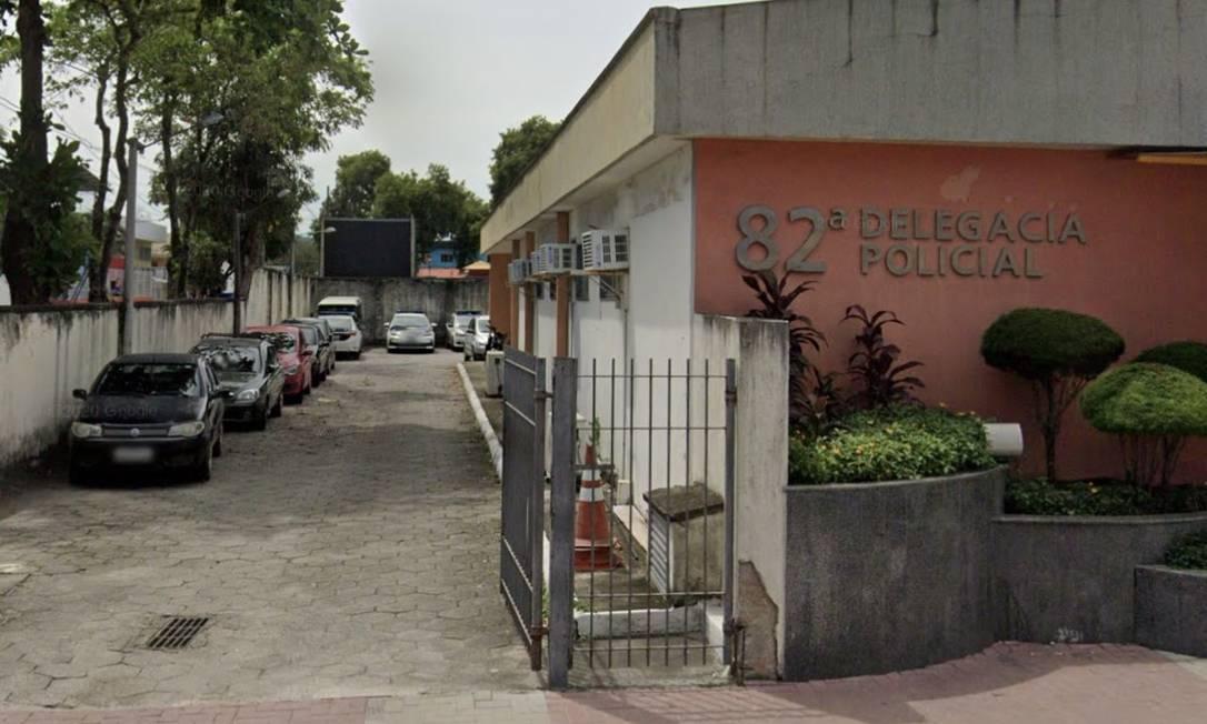 A delegacia de Maricá pediu à Justiça mandados de prisão e de busca e apreensão contra a narcomilícia Foto: Google Street View / Reprodução