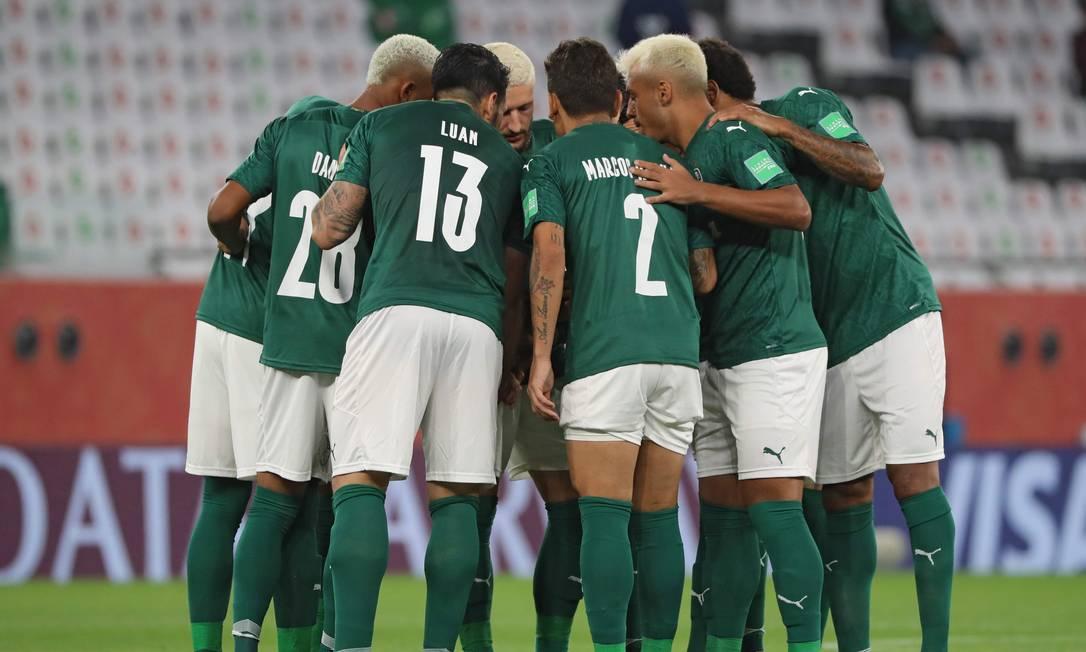 Palmeiras decide terceiro lugar do Mundial contra o Al Ahly Foto: KARIM JAAFAR / AFP