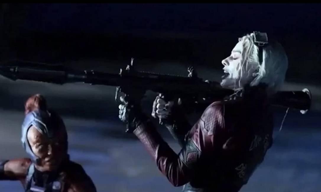 Margot Robbie como Arlequina em 'O Esquadrão Suicida 2': estreia no streaming Foto: Divulgação