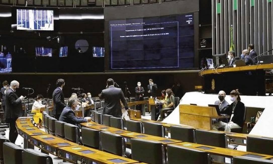 Plenário da Câmara dos Deputados Foto: Maryanna Oliveira/Câmara dos Deputados.