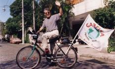 Campanha para deputado em 1994 Foto: Cezar Loureiro / Agência O Globo