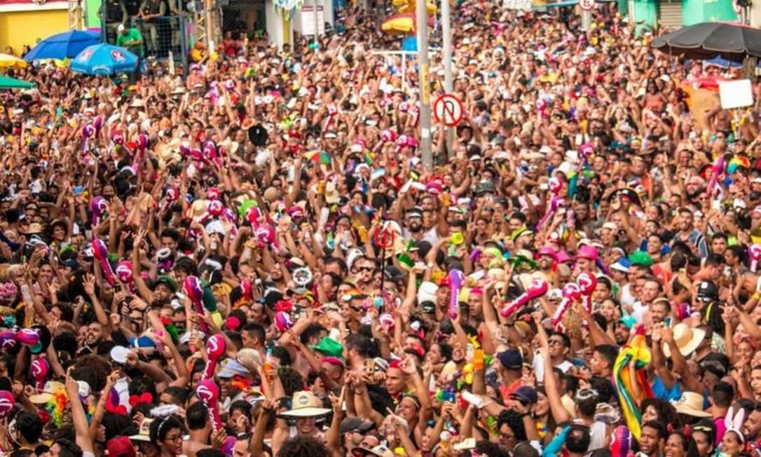 Organização estima que Galo da Madrugada reúna 2 milhões de pessoas no desfile de Carnaval Foto: Divulgação