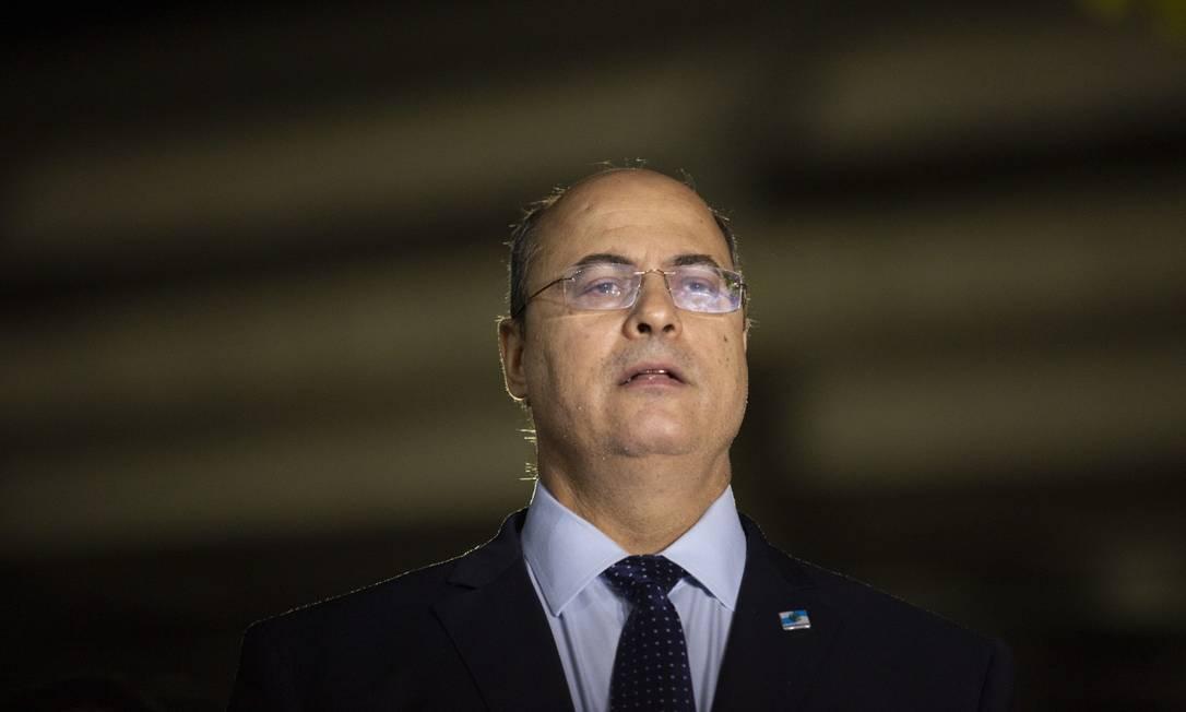 Governador afastado agora é réu após STJ aceitar denúncia do MPF Foto: Gabriel Monteiro / Agência O Globo