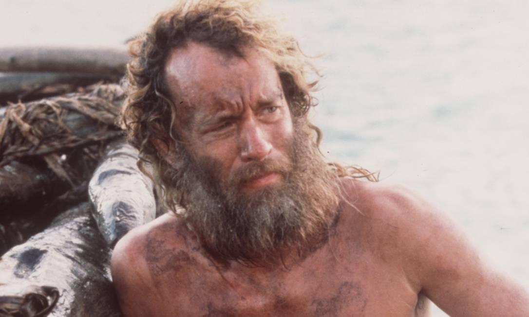 """Em """"O náufrago"""", Hanks recebeu a quinta indicação ao Oscar na carreira na categoria de melhor ator. Foto: Zade Rosenthal"""