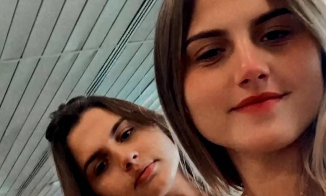 Gêmeas são as mais jovens brasileiras a fazer mudança de sexo Foto: Arquivo pessoal