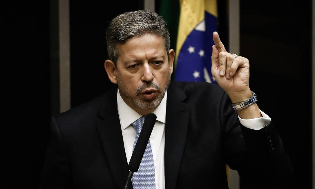 O presidente da Câmara, Arthur Lira Foto: Pablo Jacob / Agência O Globo