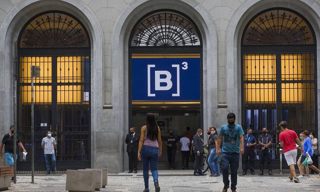 B3, em São Paulo: este ano, a expectativa é que os IPOs igualem ou superem as 28 aberturas de capital do ano passado Foto: Edilson Dantas / Agência O Globo