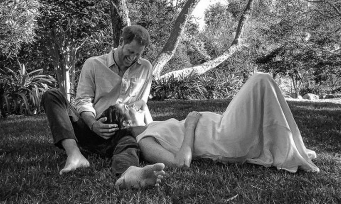 Harry, Meghan e a sola dos pés do príncipe Foto: via REUTERS