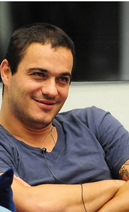 Rafa, do BBB 12: recorde de rejeição na edição (92%) Foto: Frederico Rozário/TV Globo