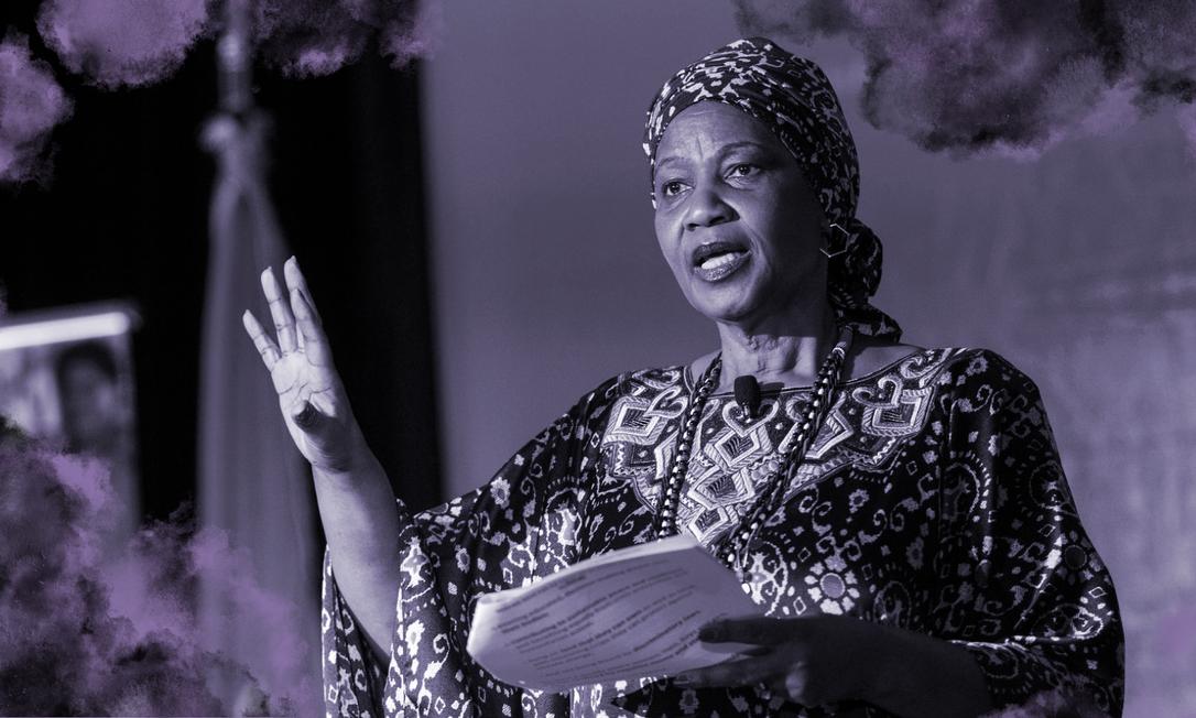 Phumzile Mlambo-Ngcuka, 65 anos, é a diretora global da ONU Mulheres desde que Ban Ki-moon, o então secretário das Nações Unidas, a indicou para o cargo em 2013 Foto: Divulgação/ONU Mulheres