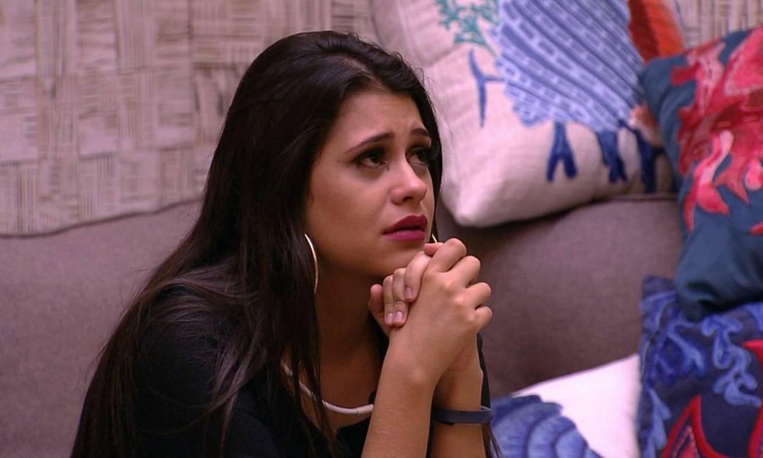 A catarinense Ana Paula, do BBB 18: 89,95% de rejeição Foto: TV Globo