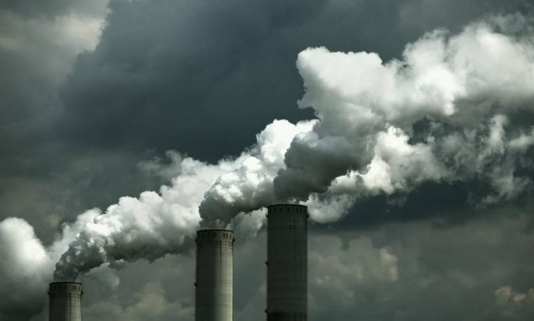 Poluição provocada por fábrica Foto: Getty Images