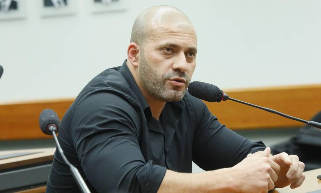 O deputado Daniel Silveira Foto: Maryanna Oliveira / Câmara dos Deputados