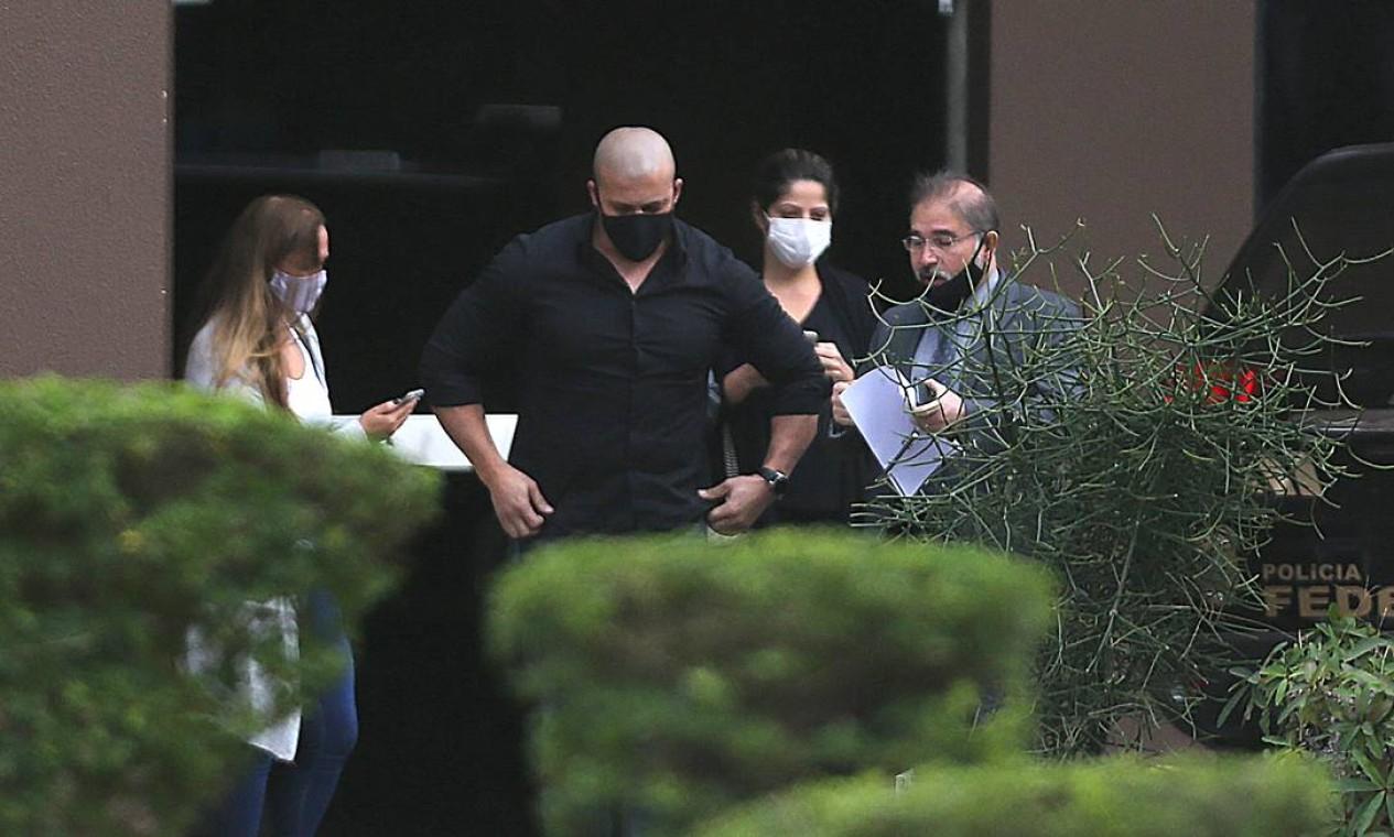 Em junho do ano passado, deputado Daniel Silveira já havia sido alvo de busca e apreensão no inquérito sobre atos antidemocráticos Foto: Jorge William / Agência O Globo