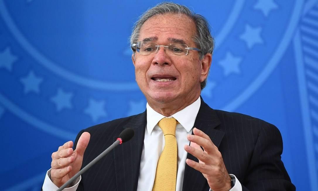 Paulo Guedes Foto: EVARISTO SA / AFP