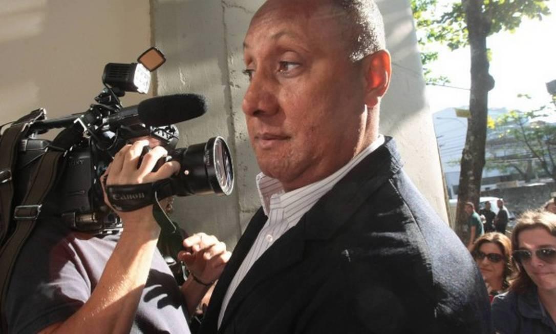 O tenente-coronel Cláudio Luiz Silva de Oliveira, condenado por morte de juíza, será um dos companheiros de prisão de Daniel Silveira Foto: Bruno Gonzalez/27.09.2011