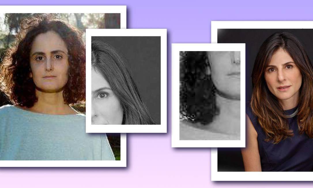 A escritora Tatiana Salem Levy e a diretora de TV Joana Jabace Foto: Arte sobre fotos de Pedro Loureiro e Nana Moraes