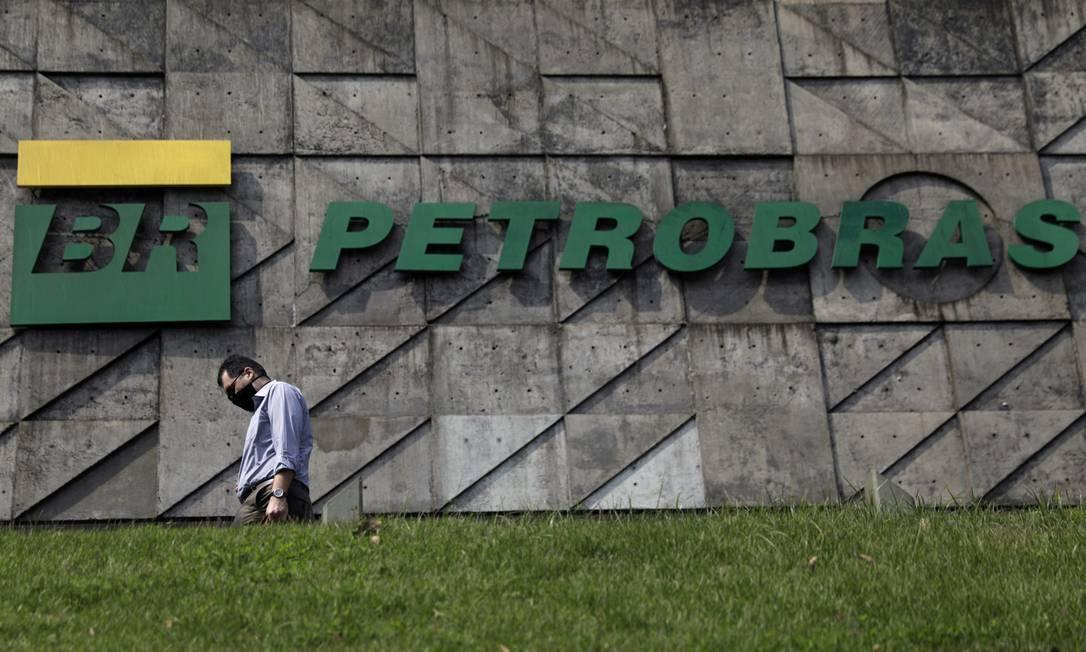 Sede da Petrobras, no Centro do Rio Foto: RICARDO MORAES / REUTERS/10-9-2020
