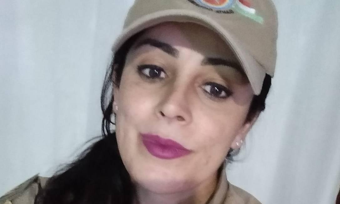 A sargento Priscila Diana entrou na Justiça para ter sua identidade de gênero reconhecida pela PM Foto: Arquivo Pessoal