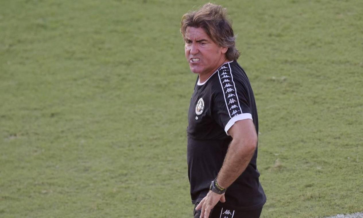 RICARDO SÁ PINTO (VASCO) - 27ª RODADA - O técnico português também teve trajetória breve na Colina e acabou demitido em 29 de dezembro. Foram apenas 15 jogos, com três vitórias, seis empates e seis derrotas. Foto: Alexandre Loureiro / Reuters