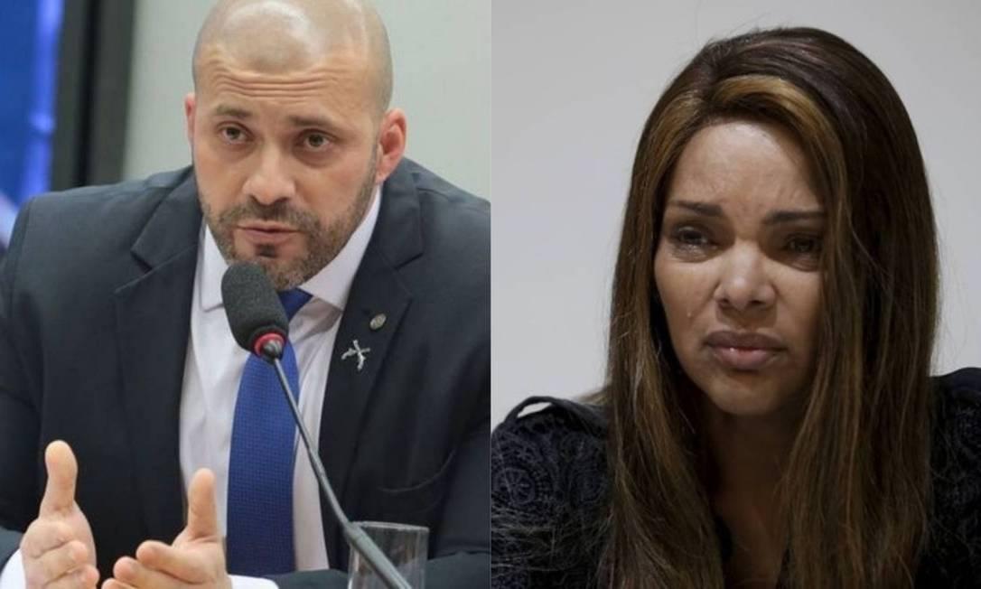 Deputados Daniel Silveira e Flordelis Foto: Agência O Globo