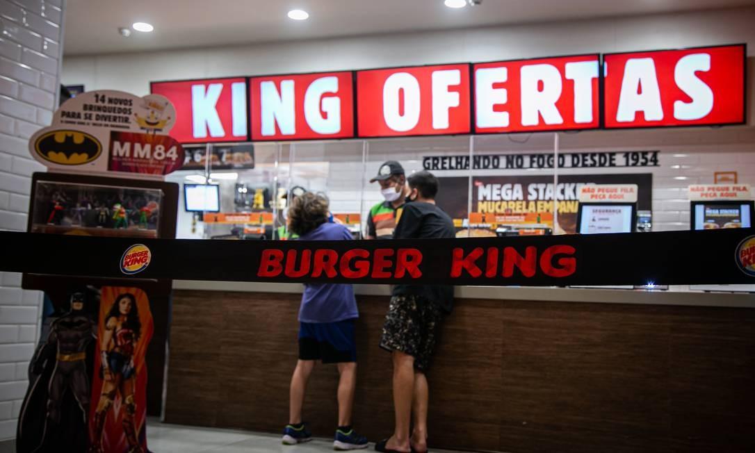 Burger King lançou em fevereiro de 2021 seu programa de fidelidade Foto: Hermes de Paula / Agência O Globo