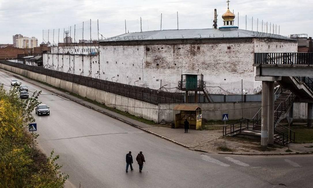 Colônia prisional em Omsk, na Sibéria Foto: Dmitry Feoktistov / Tass