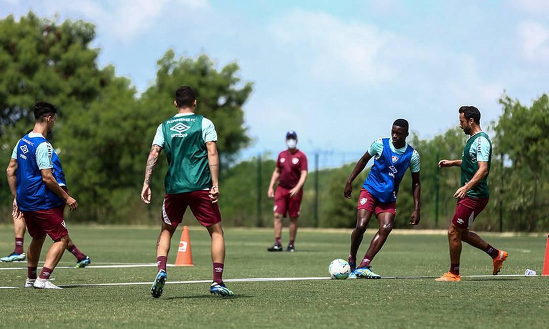 Os jogadores do Fluminense devem passar por um começo de temporada confuso Foto: Lucas Mercon/Fluminese