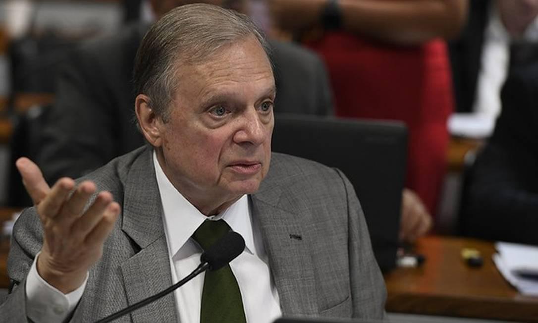 Tasso Jereissati Foto: Edilson Rodrigues/Agência Senado