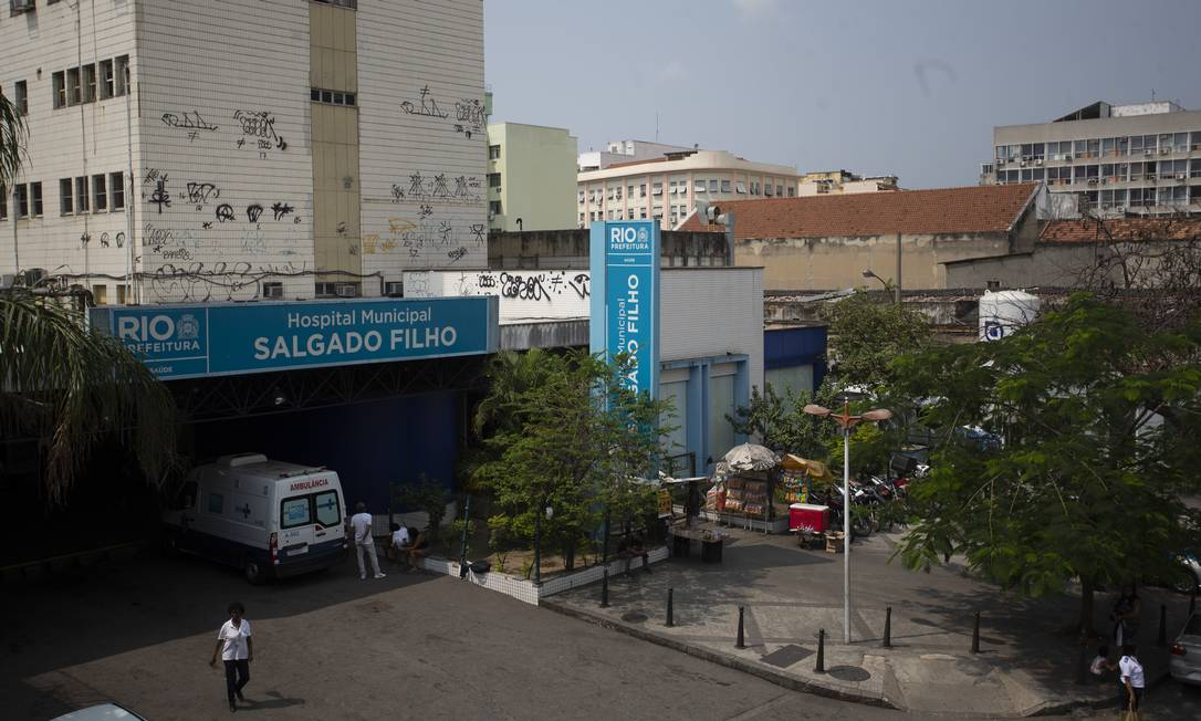 O hospital municipal Salgado Filho, no Méier Foto: Márcia Foletto / Agência O Globo
