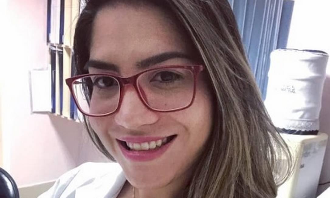 Fisioterapeuta Talyssa Taques caiu de janela de hotel no Rio Foto: Reprodução