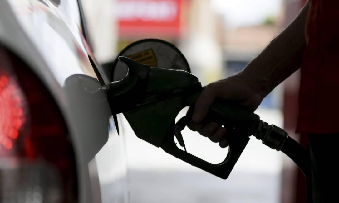 Posto de Gasolina em Nova Iguaçu, no Rio de Janeiro Foto: Custódio Coimbra/Agência O Globo