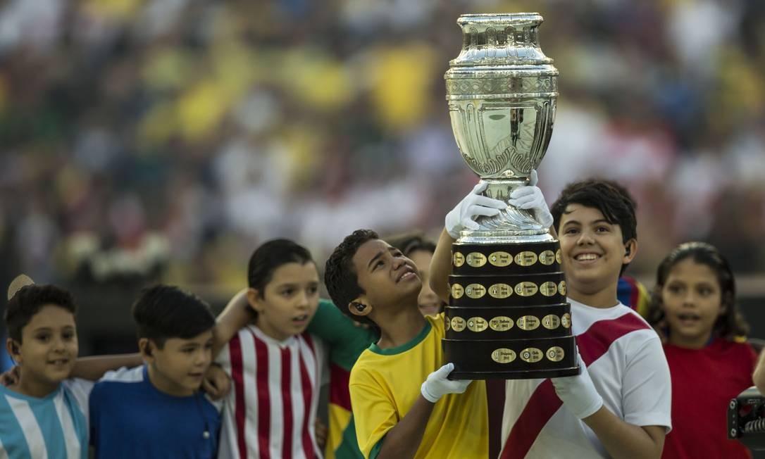 Final da Copa América 2019 foi no Maracanã Foto: Guito Moreto / Agência O Globo