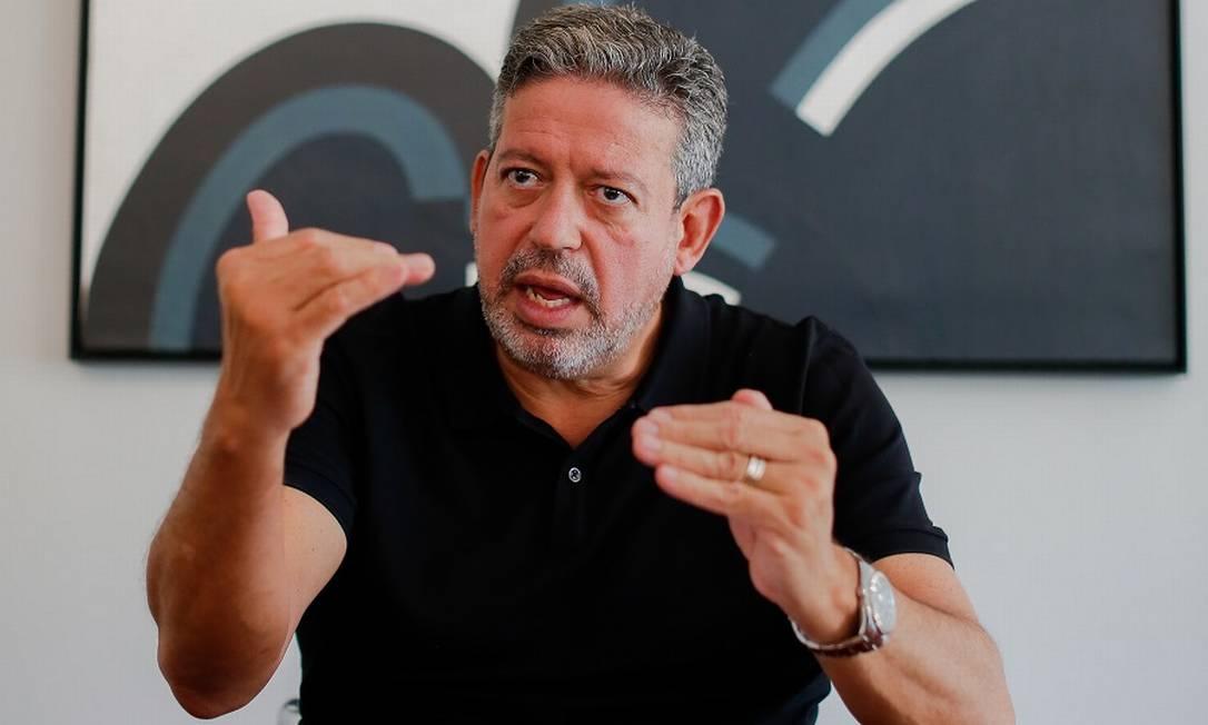 O presidente da Câmara dos Deputados, Arthur Lira Foto: Sergio Lima / Agência O Globo