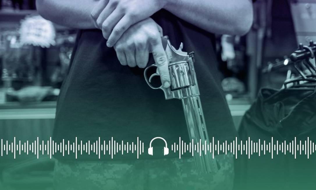 Bolsonaro amplia de quatro para seis o limite de armas para cada cidadão Foto: Arte