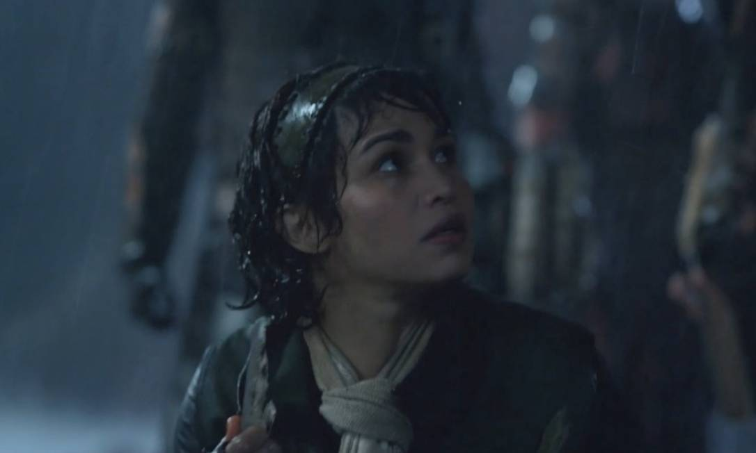 Nanda Costa em 'Monster Hunter': atriz brasileira integra o elenco do filme inspirado em game Foto: Divulgação