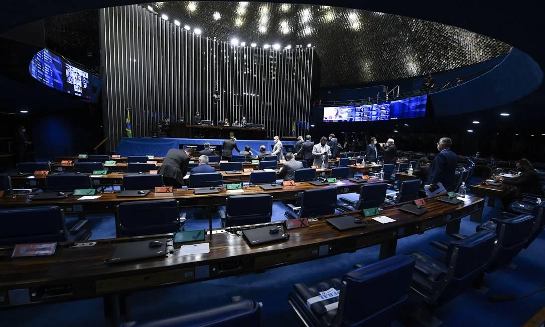 Senado fez alterações no projeto que será enviado para nova apreciação da Câmara Foto: Jefferson Rudy / Agência Senado