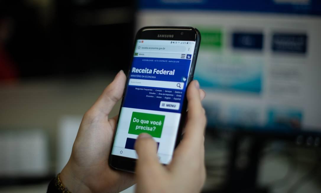 Imposto de Renda 2021. Envio das declarações começa na próxima semana Foto: Brenno Carvalho / Agência O Globo