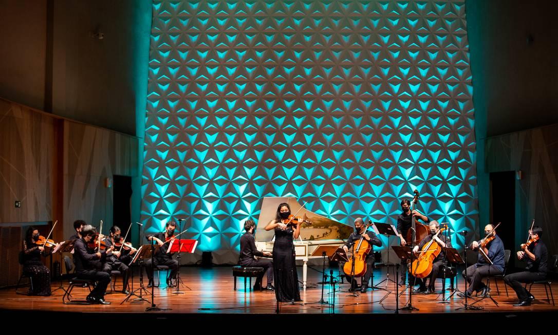 Concerto da Sala Digital (FestivalBach) Foto: Vitor Jorge/Divulgação