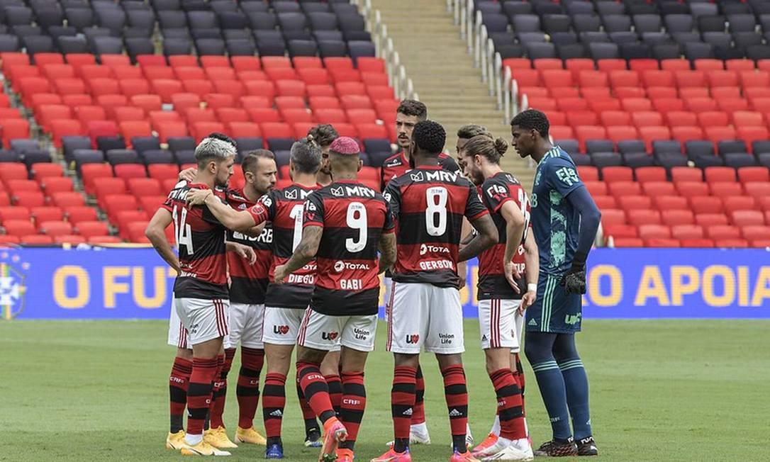 Time do Flamengo Foto: Divulgação