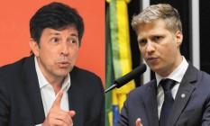 Joao Amoedo e Marcel Van Hattem Foto: Geraldo Bubniak/AGB e Luis Macedo/Câmara dos Deputados