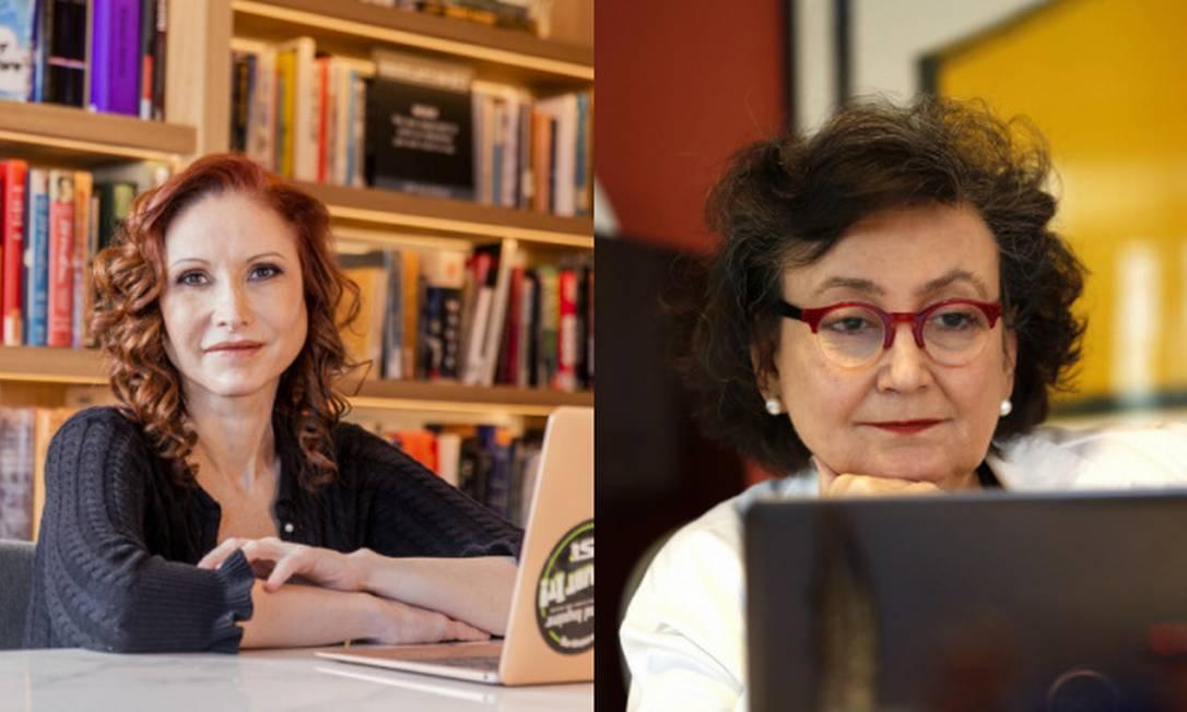 Natalia Pasternak e Margareth Dalcolmo conversam sobre a pandemia no Brasil. Foto: Anna Carolina Negri/Fabio Rossi/Montagem