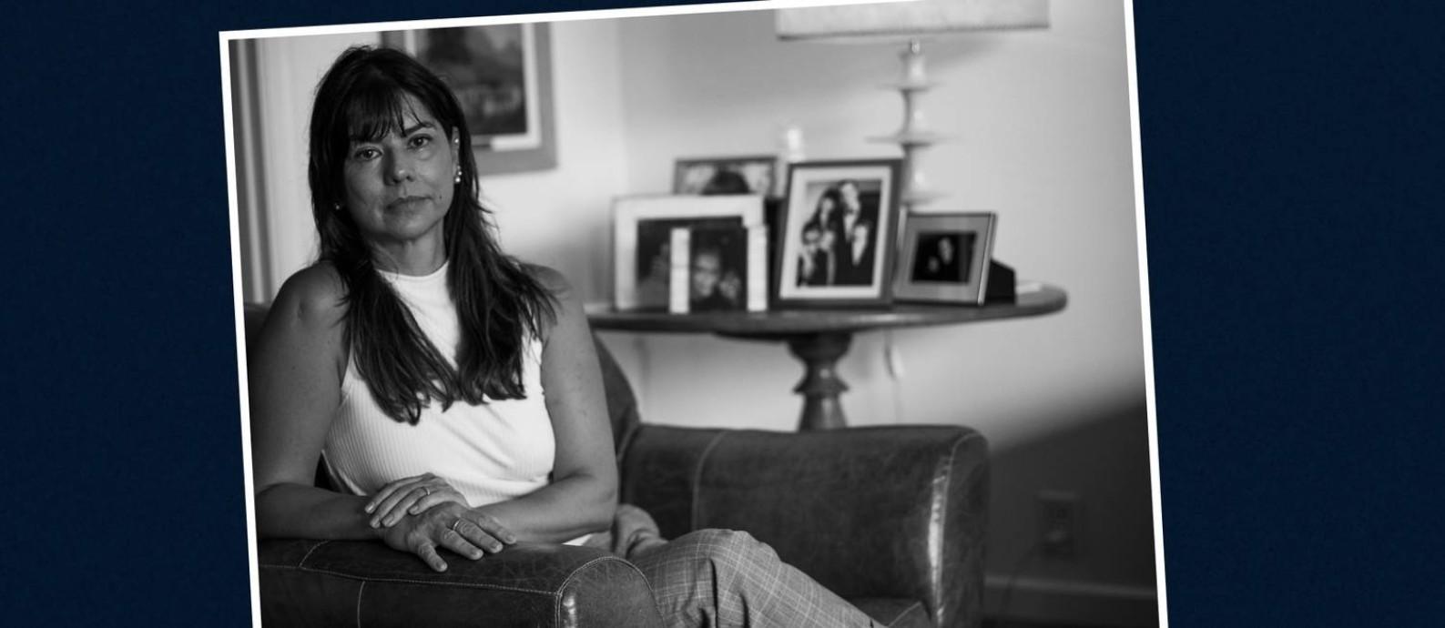 Entre nas conversas por mensagens de texto, Denise tentava manter o otimismo em relação ao quadro de saúde do marido Foto: Guito Moreto